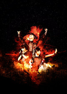 BABYMETAL。右下がYUIMETAL(Scream, Dance)。
