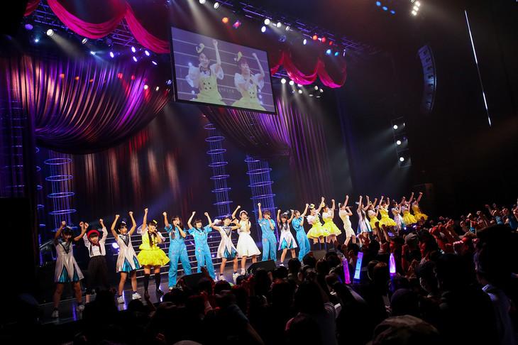 3B junior「3B junior 春の全力レビュー 2017 遥かなるアポロンの彼方へ」東京・EX THEATER ROPPONGI公演の様子。