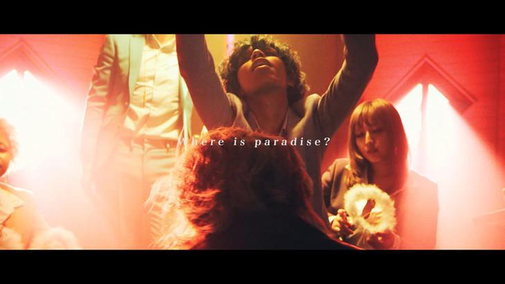 女王蜂「失楽園」ミュージックビデオのワンシーン。