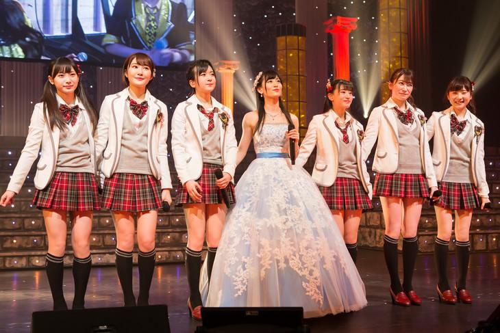 「NMB48 上西恵 卒業コンサート ~やっぱり恵ちゃんがナンバ―ワン~」の様子。(c)NMB48