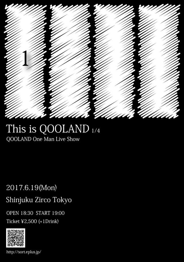 「This is QOOLAND 1/4」フライヤー