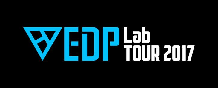 「EDP Lab -TOUR 2017-」ロゴ