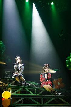 「petit milady 3rd LIVE 小さな淑女と森の愉快な仲間たち~ムッチュ☆森へ還る~」の様子。