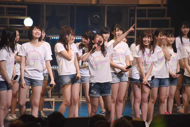 HKT48「HKT48 春の関東ツアー2017~本気のアイドルを見せてやる~」東京・NHKホール公演の様子。