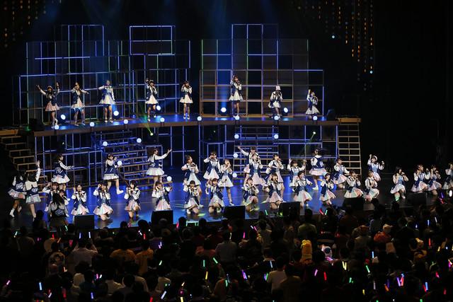 HKT48「HKT48 春の関東ツアー2017~本気のアイドルを見せてやる~」東京・NHKホール公演の様子。(c)AKS