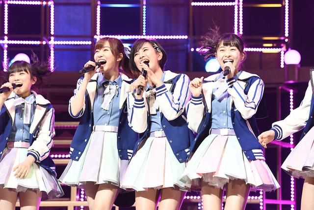 左から矢吹奈子、指原莉乃、兒玉遥、松岡はな。(c)AKS