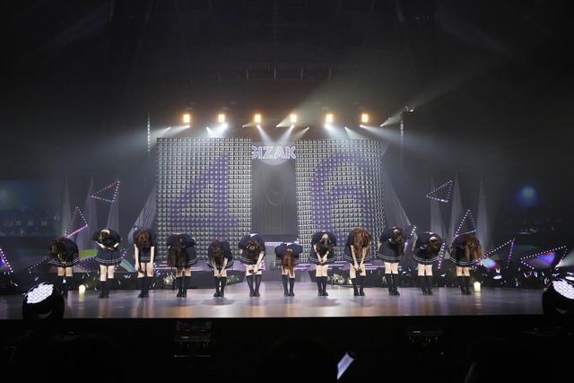 「乃木坂46 アンダーライブ全国ツアー2017 ~関東シリーズ 東京公演~」の様子。(写真提供:ソニー・ミュージックレコーズ)