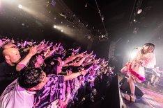 「ガイア編」での大森靖子のライブの様子。(Photo by Masayo)