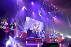 Negicco「SPRING 2017 TOUR~ライブハウスのネギ~」最終公演の様子。