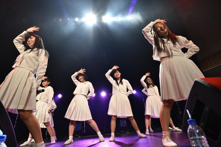 本日5月4日に行われたアイドルネッサンス3周年記念公演「シナガワで3周年を感謝するネッサンス!!」の様子。