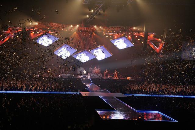 T.M.Revolution「T.M.R. LIVE REVOLUTION'17 -20th Anniversary FINAL-」の様子。