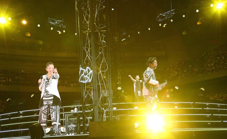 DREAMS COME TRUE「裏ドリワンダーランド 2016」横浜アリーナ公演の様子。(写真提供:ユニバーサルミュージック)