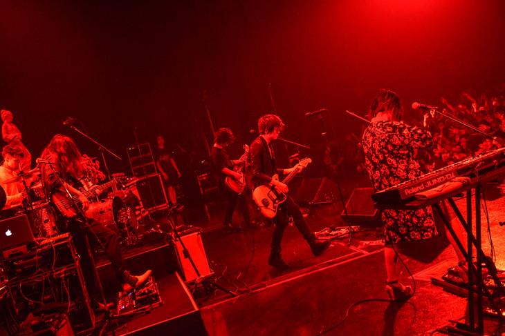 BIGMAMA「ファビュラ旅行記 2017」東京・Zepp Tokyo公演の様子。(Photo by Azusa Takada)