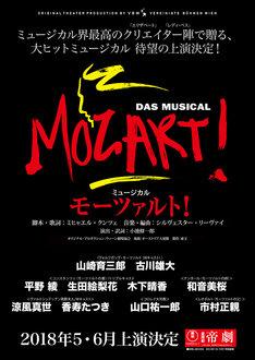ミュージカル「モーツァルト!」告知画像