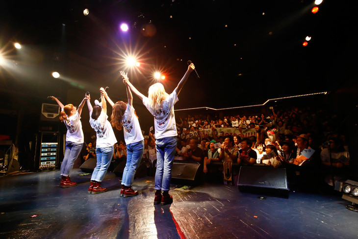 BILLIE IDLE「BILLIed IDLE ツアー」最終公演の様子。(写真提供:オツモレコード)
