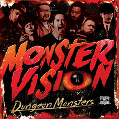 Dungeon Monsters「MONSTER VISION」ジャケット