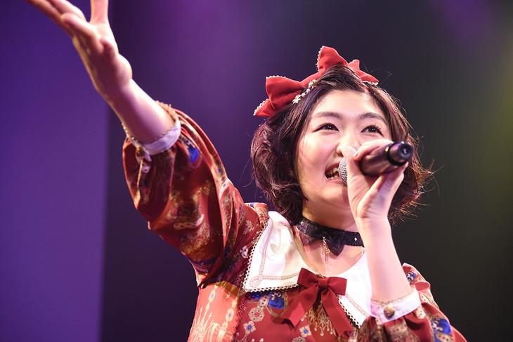 小林歌穂生誕ソロライブ「ぽーランド2!!」の様子。