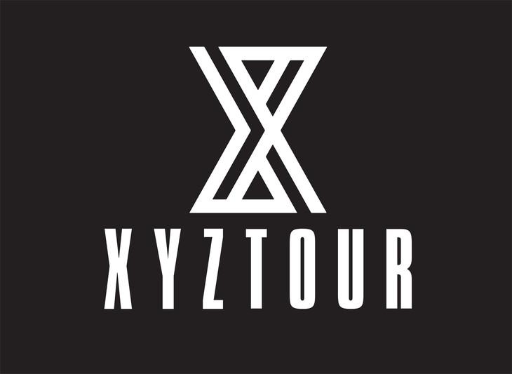「XYZ TOUR 2017 -SUMMER-」ロゴ