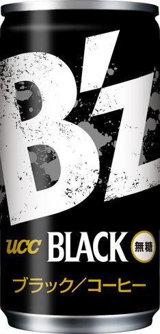 「UCC B'z缶」のデザイン。
