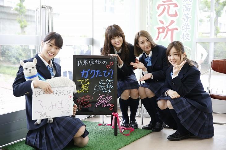 NHK BSプレミアム「乃木坂46のガクたび!」のワンシーン。(写真提供:NHK)