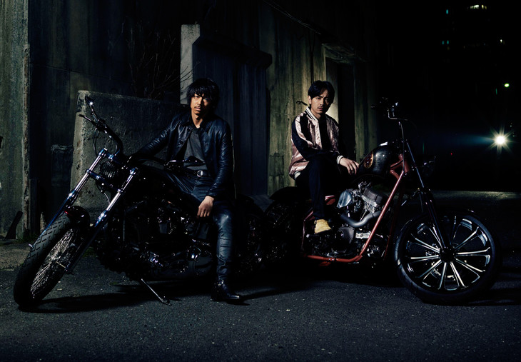 「HiGH&LOW THE MOVIE 2 / END OF SKY」琥珀&九十九ビジュアル