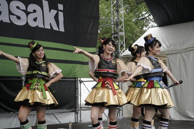 チームしゃちほこ(Photo by HIROKAZU)