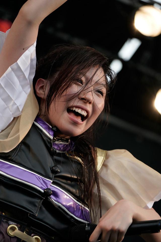 大黒柚姫(チームしゃちほこ)(Photo by HIROKAZU)