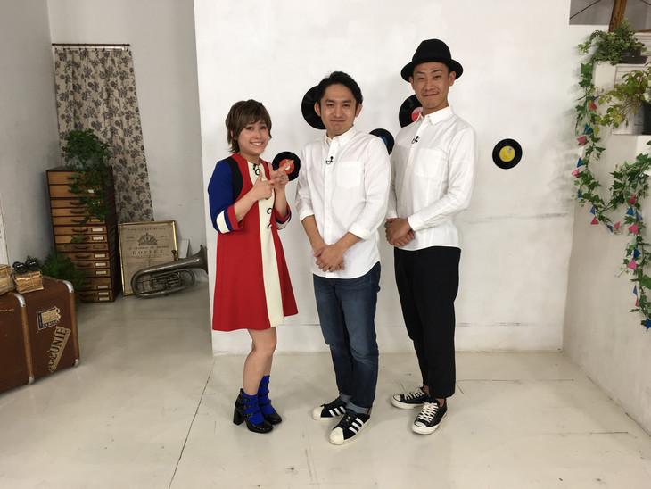 左からIMALU、C&K。 (c)テレビ朝日