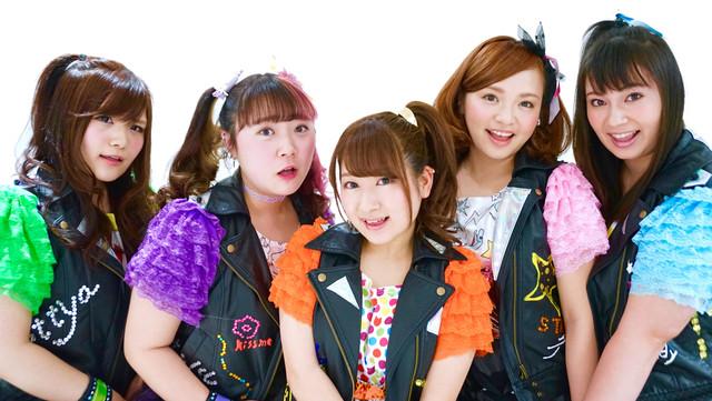 Pottya。左から本多加奈子、橋本一愛、大木梨渚、犬童舞子、大橋ミチ子。