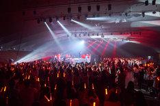 天月-あまつき-「天月-あまつき-のやりたい放題TOUR2017」初日公演の様子。(Photo by Tatsuya Kawasaki)