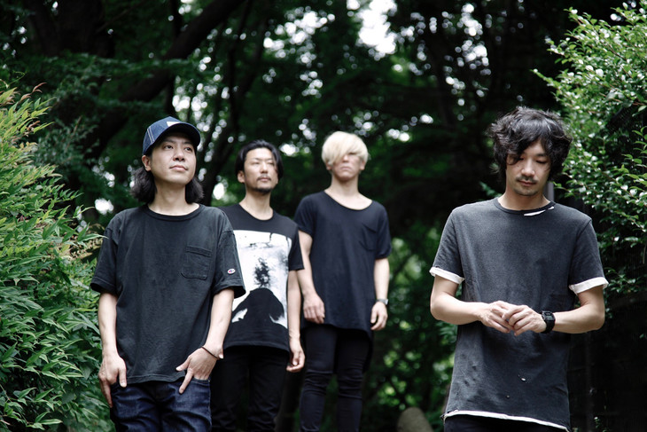 バンドメンバーも含めたツアー「PLEASURE FOREST」のtacicaビジュアル。