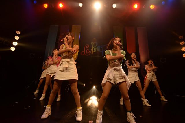 「La PomPon 1stワンマンライブ ~Power of LPP~」の様子。(撮影:達川範一)