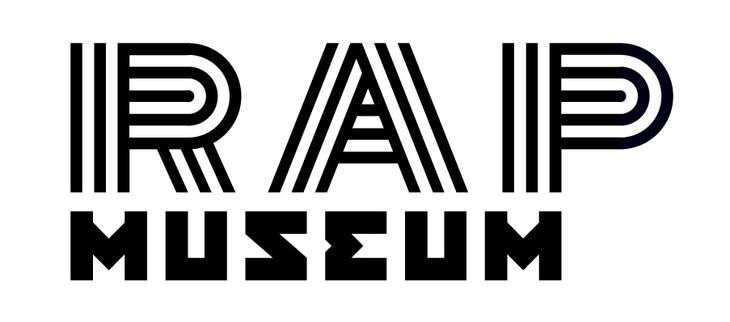 「ラップ・ミュージアム展」ロゴ