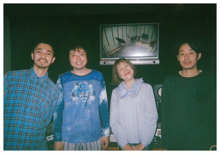 左から鎮座DOPENESS、U-zhaan、矢野顕子、環ROY。