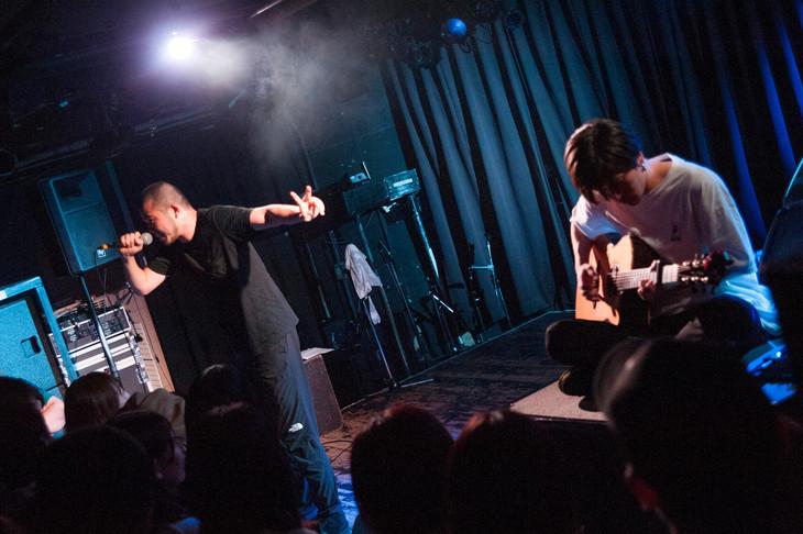 「MOROHA『其ノ灯、暮ラシ』RELEASE TOUR FINAL×『怒濤』第9回」の様子。(Photo by MAYUMI -kiss it bitter-)