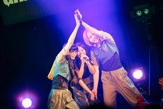 ユイ・ガ・ドクソン、キャン・マイカ、テラシマユウカ。(写真提供:T-Palette Records)