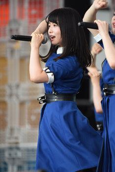 「TOKYO IDOL FESTIVAL 2017」8月5日公演での長濱ねる。