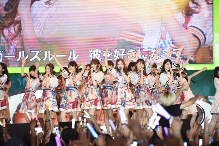 「TOKYO IDOL FESTIVAL 2017」メインステージのHOT STAGEで3日間のトリを務めた乃木坂46。