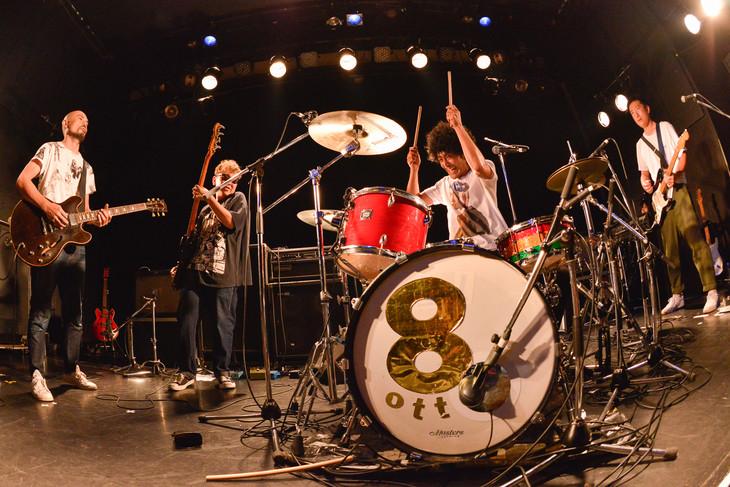 8otto企画ライブ「One or Eight」の様子。(撮影:古溪一道)