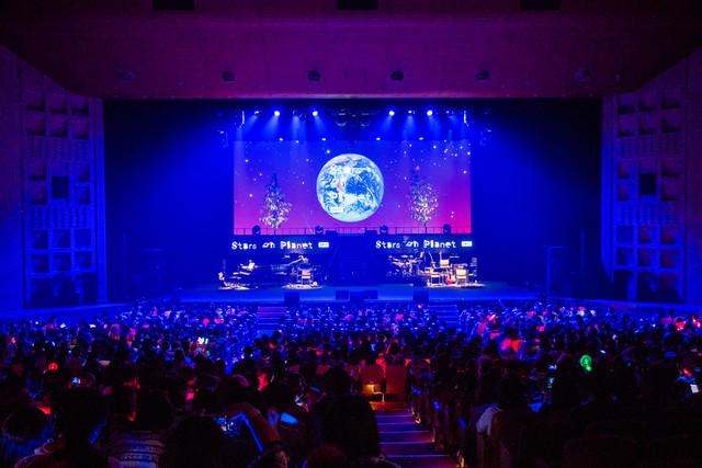 8月5日に実施された「Stars on Planet 2017」夜公演の様子。(提供:Stars on Planet 2017)