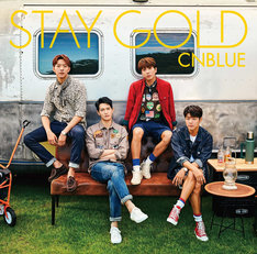 CNBLUE「STAY GOLD」初回限定盤Aジャケット