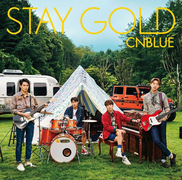 CNBLUE「STAY GOLD」通常盤ジャケット