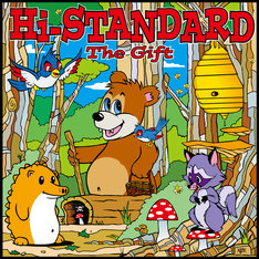 Hi-STANDARD「The Gift」ジャケット