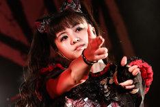 MOAMETAL(Scream, Dance)(Photo by Taku Fujii)