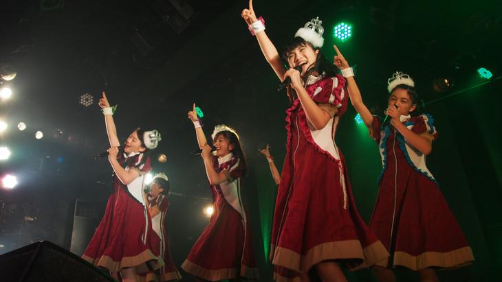 「ばってん少女隊の、田舎娘2nd~カユい所まで手を届け鯛ツアー」愛知・名古屋CLUB QUATTRO公演の様子。
