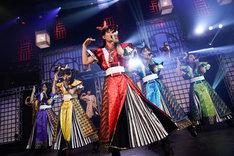 チームしゃちほこ「しゃちサマ2017~どどん~」東京・TOKYO DOME CITY HALL公演の様子。(Photo by HIROKAZU)