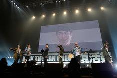 藤井隆の変顔がラストを飾った「神輿ロッカーズ feat. RHYMESTER」。