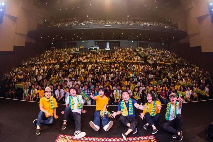 「植田真梨恵LIVE TOUR UTAUTAU vol.3」の様子。(撮影:竹谷さくら)