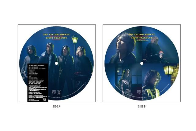 THE YELLOW MONKEY「ZIGGY STARDUST」アナログ盤ピクチャーディスク