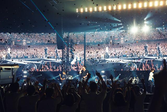「Mr.Children DOME & STADIUM TOUR 2017 Thanksgiving 25」えがお健康スタジアム公演の様子。 (c)osami yabuta